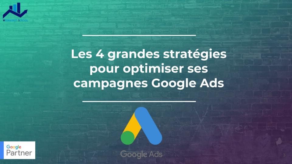 optimiser ses campagnes google ads