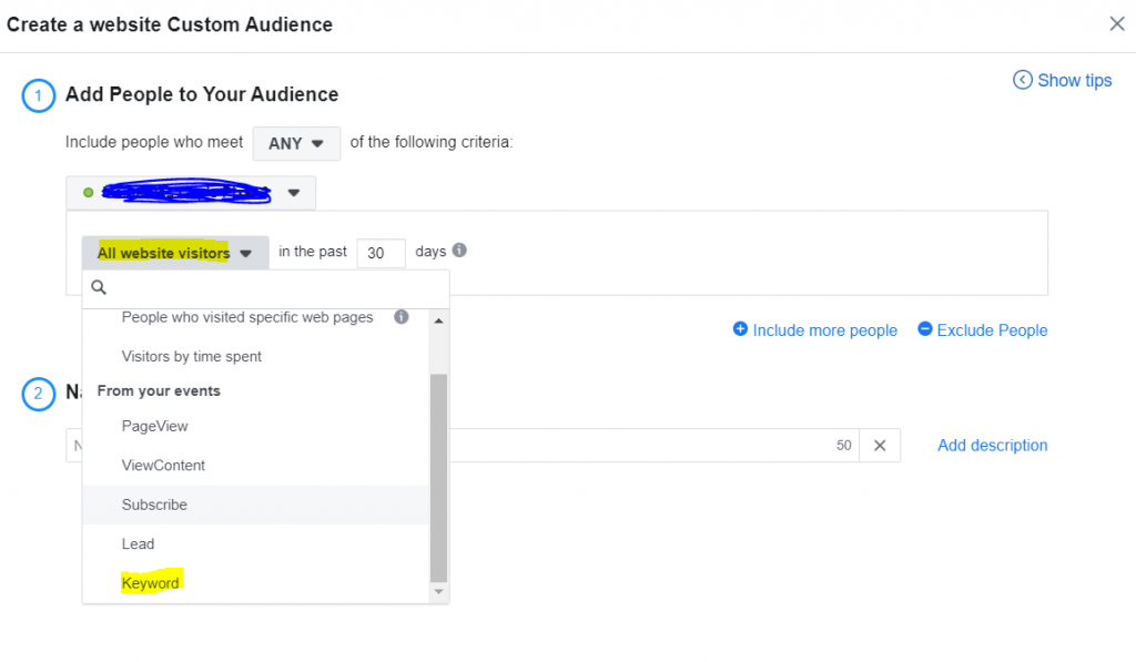 facebook ads google ads keyword remarketing